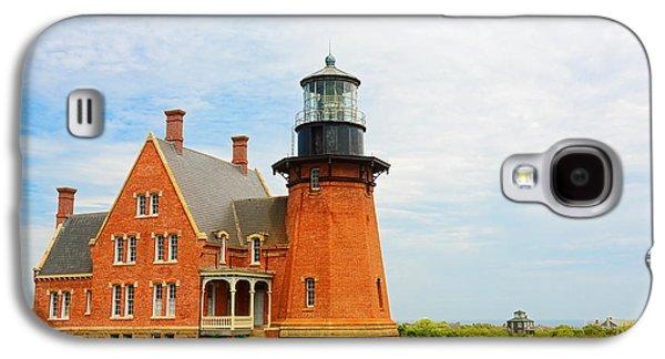 Block Island Southeast Lighthouse Artwork Galaxy S4 Case by Lourry Legarde