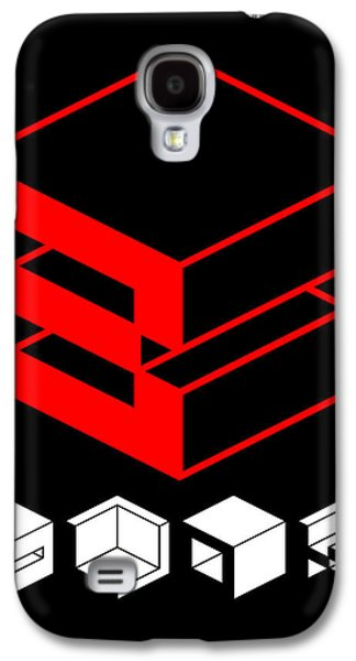 Blok Poster Galaxy S4 Case by Naxart Studio