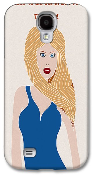 Blondes To Die Out In 200 Years Galaxy S4 Case by Frank Tschakert