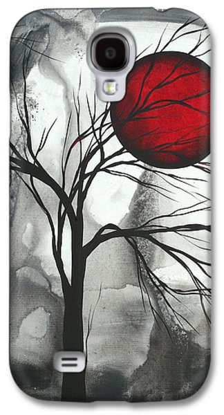 Design Paintings Galaxy S4 Cases - Blood of the Moon 2 by MADART Galaxy S4 Case by Megan Duncanson