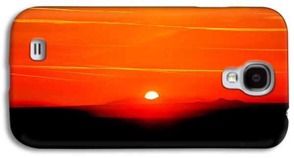 Sun Galaxy S4 Cases - Blood Red Sunset Galaxy S4 Case by Az Jackson