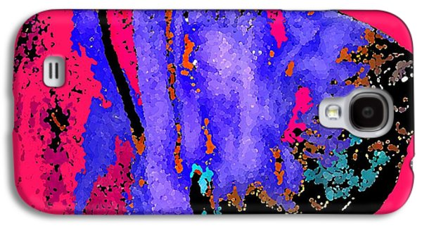 Puppies Digital Art Galaxy S4 Cases - Bloodhound 1 Galaxy S4 Case by Michael Graham
