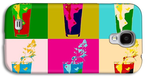 Bloody Mary Pop Art Panels Galaxy S4 Case by Dan Sproul
