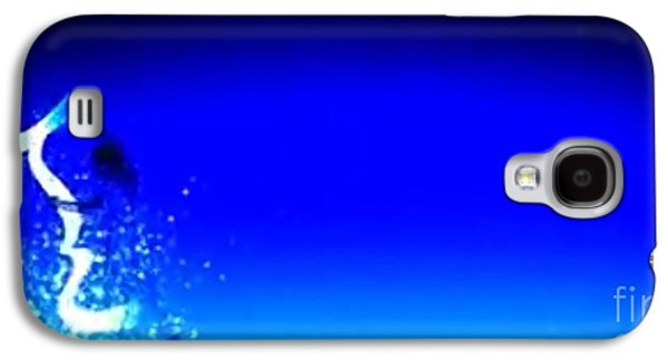 Constellations Paintings Galaxy S4 Cases - Blu Star 15 Galaxy S4 Case by Matteo TOTARO