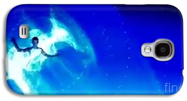 Constellations Paintings Galaxy S4 Cases - Blu Star 17 Galaxy S4 Case by Matteo TOTARO