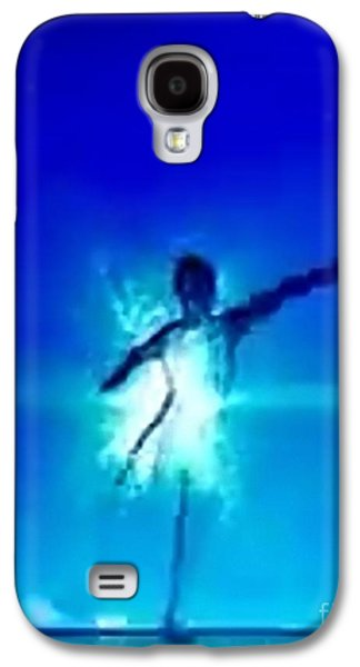 Constellations Paintings Galaxy S4 Cases - Blu Star 22 Galaxy S4 Case by Matteo TOTARO