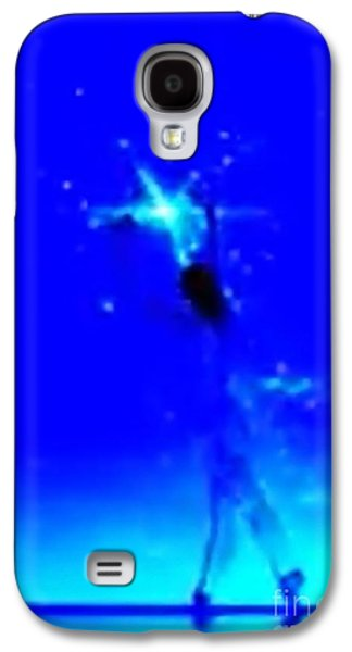 Constellations Paintings Galaxy S4 Cases - Blu Star 23 Galaxy S4 Case by Matteo TOTARO