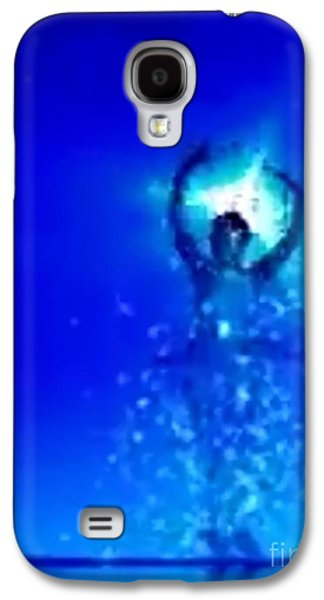 Constellations Paintings Galaxy S4 Cases - Blu Star 24 Galaxy S4 Case by Matteo TOTARO