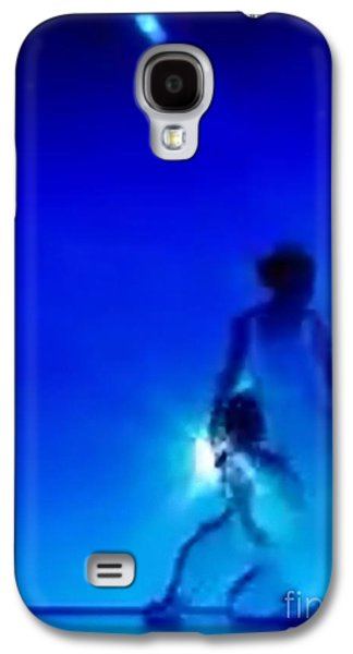 Constellations Paintings Galaxy S4 Cases - Blu Star 25 Galaxy S4 Case by Matteo TOTARO