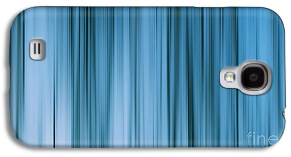 Abstract Digital Photographs Galaxy S4 Cases - Blue abstract Galaxy S4 Case by SK Pfphotography