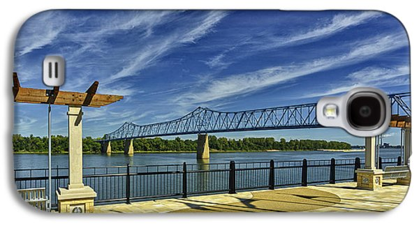 Blue Bridge And Smothers Park Galaxy S4 Case by Wendell Thompson