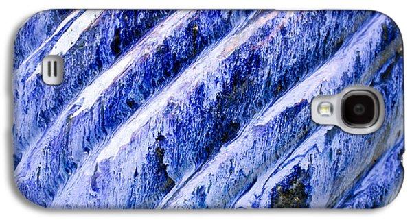 Water Jars Galaxy S4 Cases - Blue ceramic Galaxy S4 Case by Tom Gowanlock