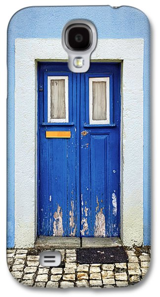 Ancient Galaxy S4 Cases - Blue Door Galaxy S4 Case by Carlos Caetano