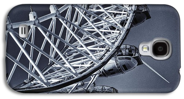Recently Sold -  - Landmarks Photographs Galaxy S4 Cases - Blue Eye Galaxy S4 Case by Joan Carroll