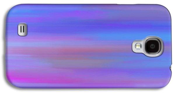 Animation Galaxy S4 Cases - Blue Galaxy S4 Case by Filipe Designs
