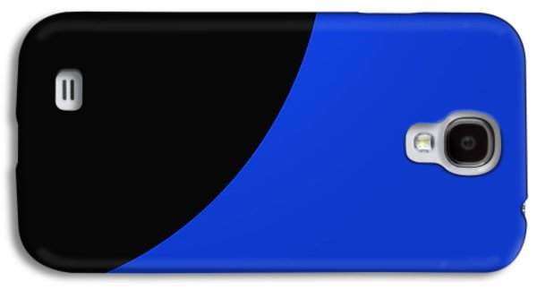 Abstract Forms Galaxy S4 Cases - Blue Flag One Of Three Galaxy S4 Case by Tina M Wenger