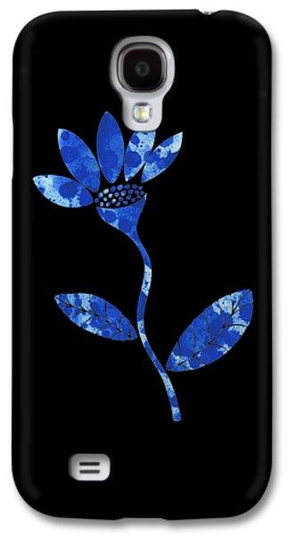 Blue Flower Galaxy S4 Case by Frank Tschakert