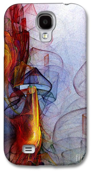 Contemplative Digital Galaxy S4 Cases - Blue Hour Galaxy S4 Case by Karin Kuhlmann