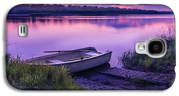 Landscapes Photographs Galaxy S4 Cases - Blue hour on the Vistula river Galaxy S4 Case by Dmytro Korol