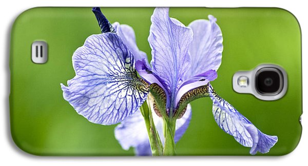 Garden Images Galaxy S4 Cases - Blue Iris Germanica Galaxy S4 Case by Frank Tschakert
