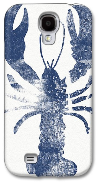 Blue Lobster- Art By Linda Woods Galaxy S4 Case by Linda Woods