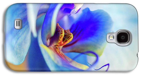 Blue Orchid Galaxy S4 Case by Stelios Kleanthous