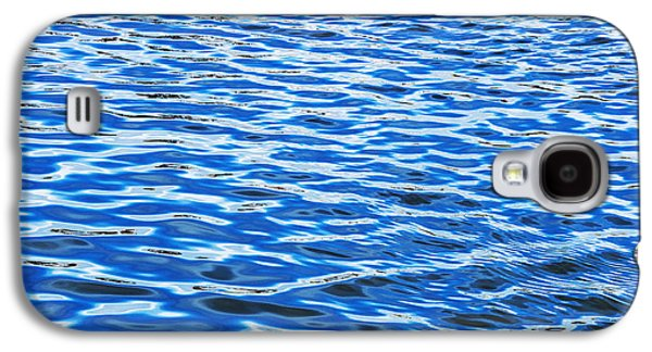 Reflecting Water Galaxy S4 Cases - Blue Ripples Galaxy S4 Case by Tim Gainey