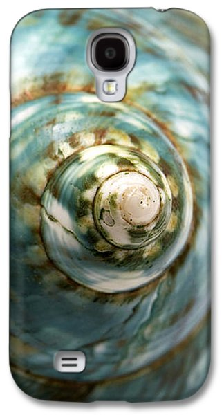 Best Sellers -  - Studio Photographs Galaxy S4 Cases - Blue Seashell Galaxy S4 Case by Fabrizio Troiani