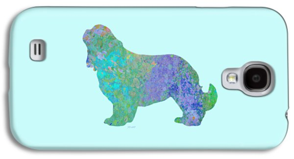 Dogs Digital Galaxy S4 Cases - Blue Spaniel Galaxy S4 Case by Bamalam  Photography
