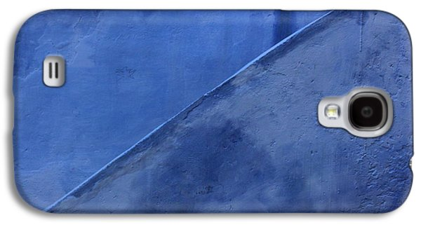 Rabat Photographs Galaxy S4 Cases - Blue Stairs in Profile Galaxy S4 Case by Ramona Johnston