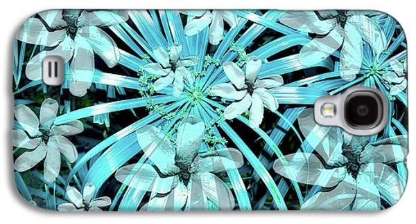 Botanical Galaxy S4 Cases - Blue Tiare Galaxy S4 Case by Robert McPeek