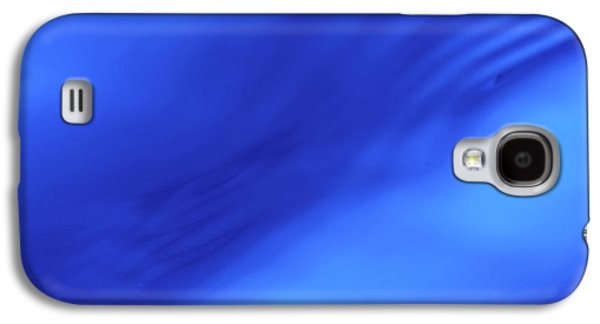 Blue Wave Abstract Galaxy S4 Case by Steve Gadomski
