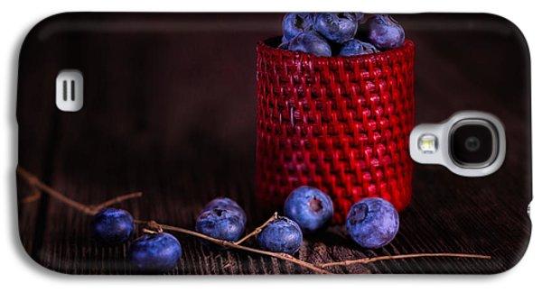 Blueberry Delight Galaxy S4 Case by Tom Mc Nemar