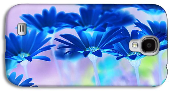 Abstract Digital Galaxy S4 Cases - Bluemination Galaxy S4 Case by Robin Webster