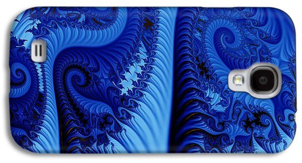 Blues Galaxy S4 Case by Ron Bissett