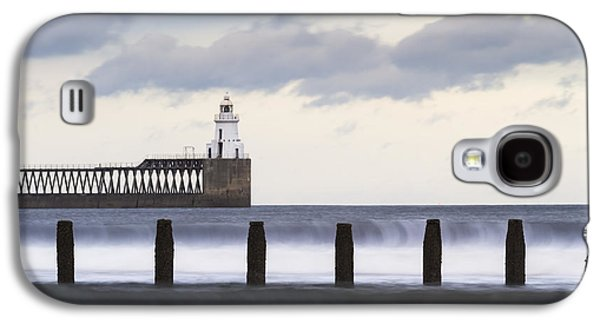 Beach Landscape Galaxy S4 Cases - Blyth Harbour Galaxy S4 Case by David Taylor