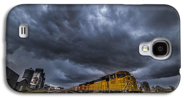 Sterling Galaxy S4 Cases - BNSF Storm Galaxy S4 Case by Darren  White