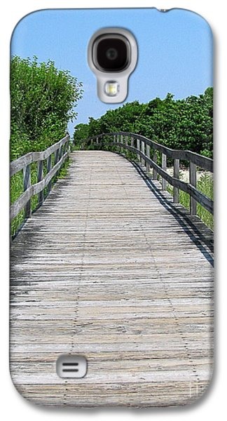 Original Art Photographs Galaxy S4 Cases - Boardwalk Galaxy S4 Case by Colleen Kammerer