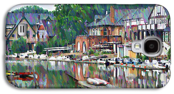 Boathouse Row In Philadelphia Galaxy S4 Case by Bill Cannon