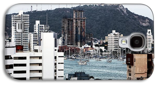 Boats In Harbor Galaxy S4 Cases - Boats in Cartagena Galaxy S4 Case by John Rizzuto