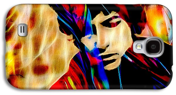 Bob Dylan Collection Galaxy S4 Case by Marvin Blaine
