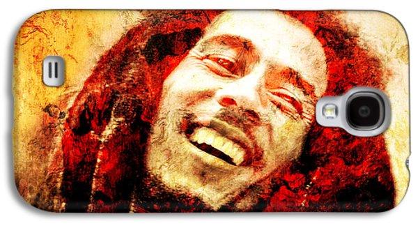 Bob Marley Galaxy S4 Case by Jose Espinoza