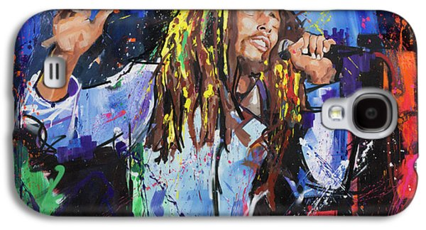 Bob Marley Galaxy S4 Case by Richard Day