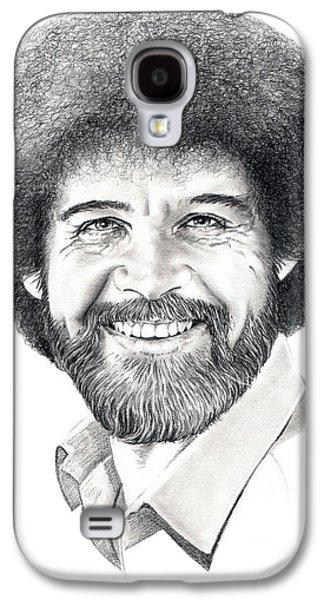 Bob Ross Galaxy S4 Case by Murphy Elliott