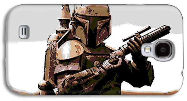 Boba Fett Galaxy S4 Case by George Pedro