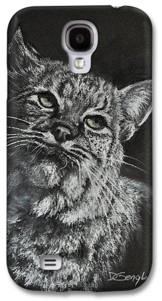 Bobcats Pastels Galaxy S4 Cases - Bobcat Galaxy S4 Case by Deb Gengler