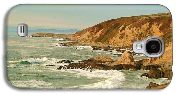 California Beaches Galaxy S4 Cases - Bodega Bay coastline  one Galaxy S4 Case by Alberta Brown Buller
