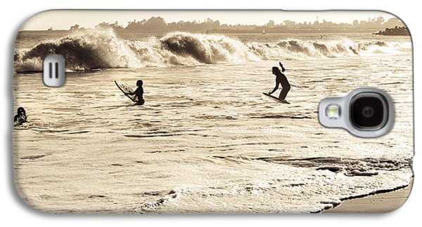Body Surfing Family Galaxy S4 Case by Marilyn Hunt