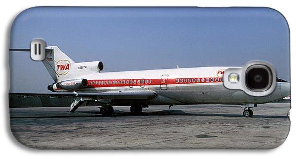 Boeing 727-031 Trans World Airlines Twa N856tw Galaxy S4 Case by Wernher Krutein