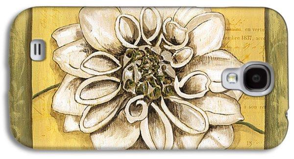 Botanical Galaxy S4 Cases - Bohemian Dahlia 1 Galaxy S4 Case by Debbie DeWitt